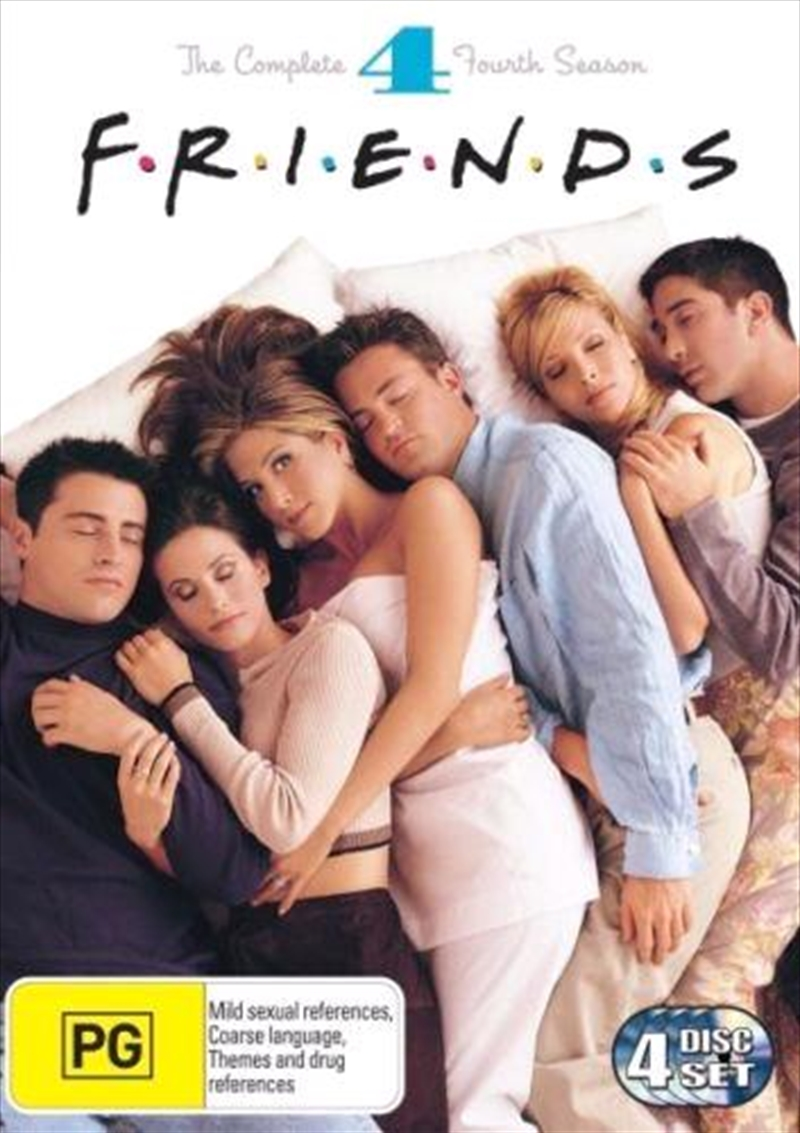 Friends - The Complete Fourth Season | DVD