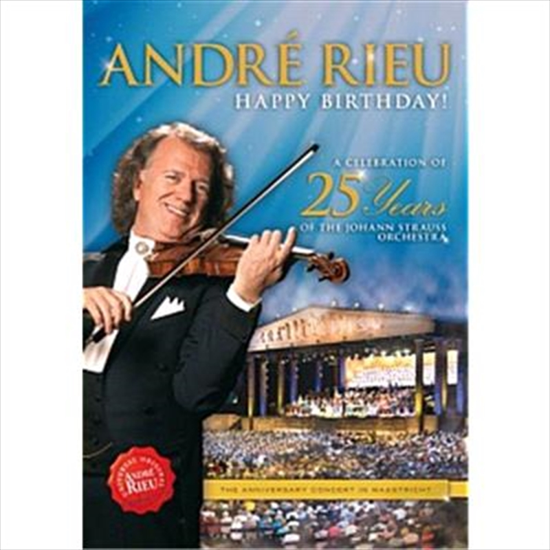 Happy Birthday! A Celebration of 25 Years | DVD