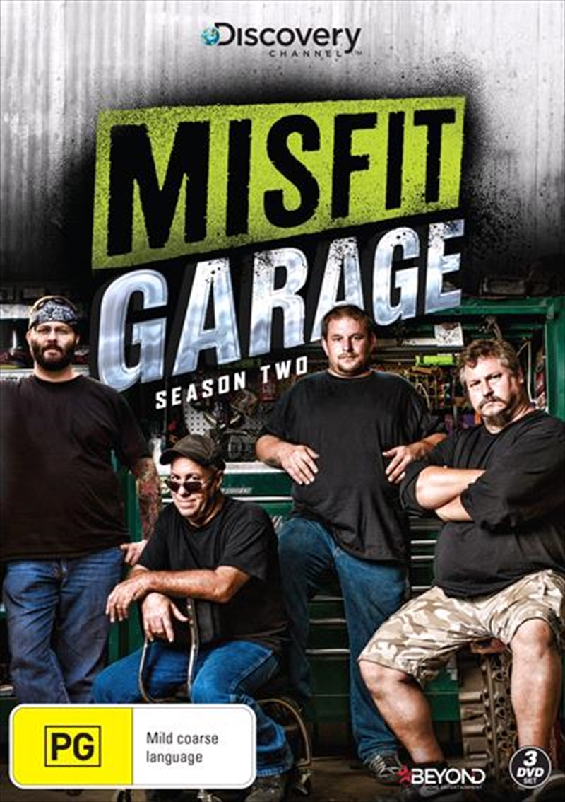 Misfit Garage - Season 2 | DVD