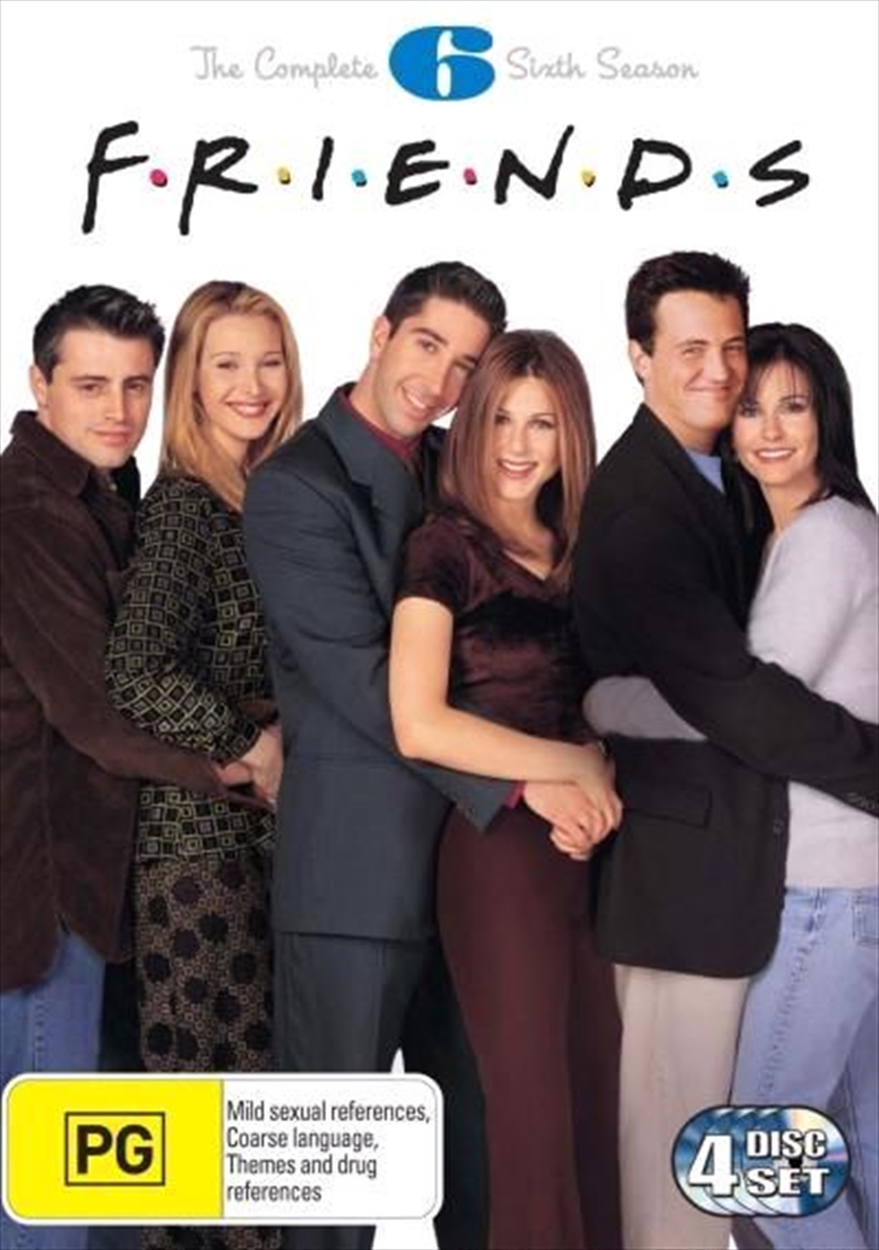Friends - The Complete Sixth Season | DVD