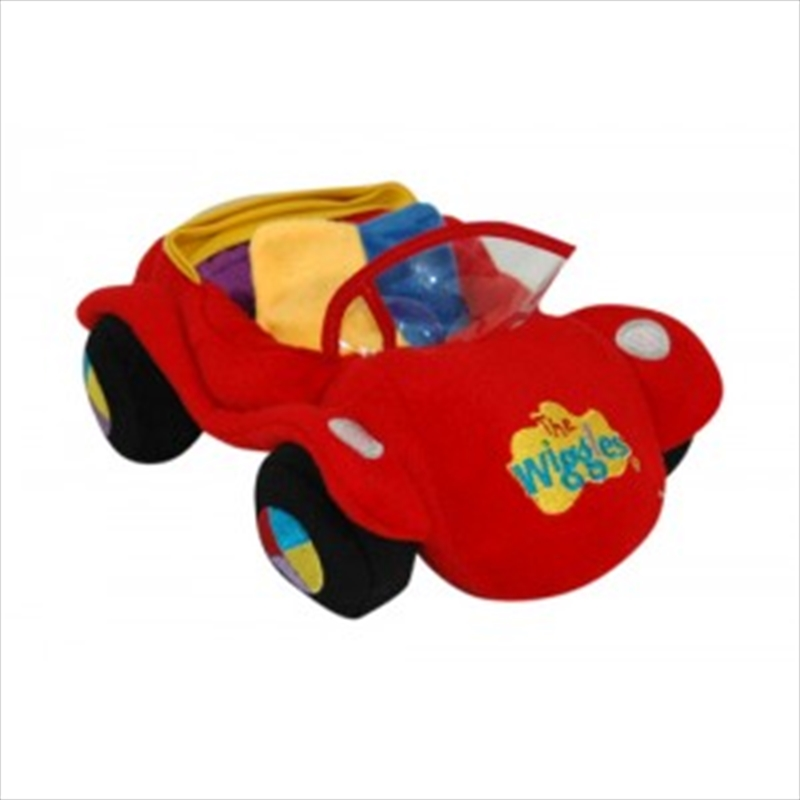 Big Red Car Plush   Toy