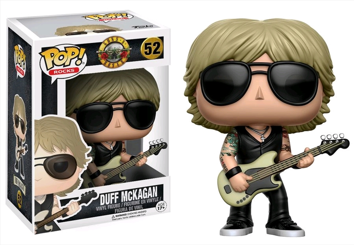 Guns 'n' Roses - Duff McKagan Pop! Vinyl | Pop Vinyl