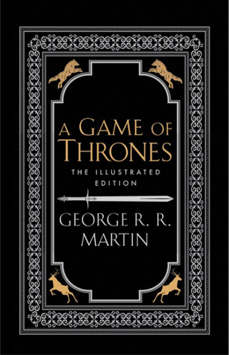 A Game Of Thrones: 20th Anniversary Illustrated Edition | Hardback Book