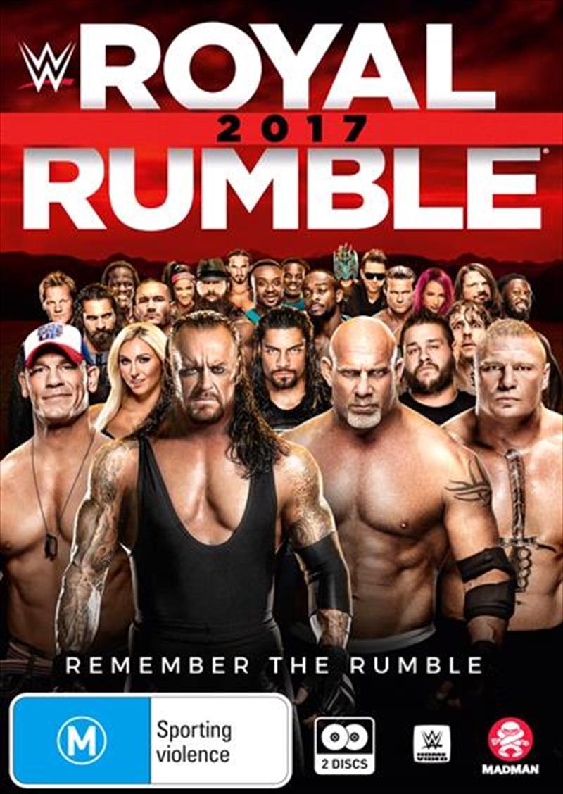 WWE - Royal Rumble 2017 | DVD