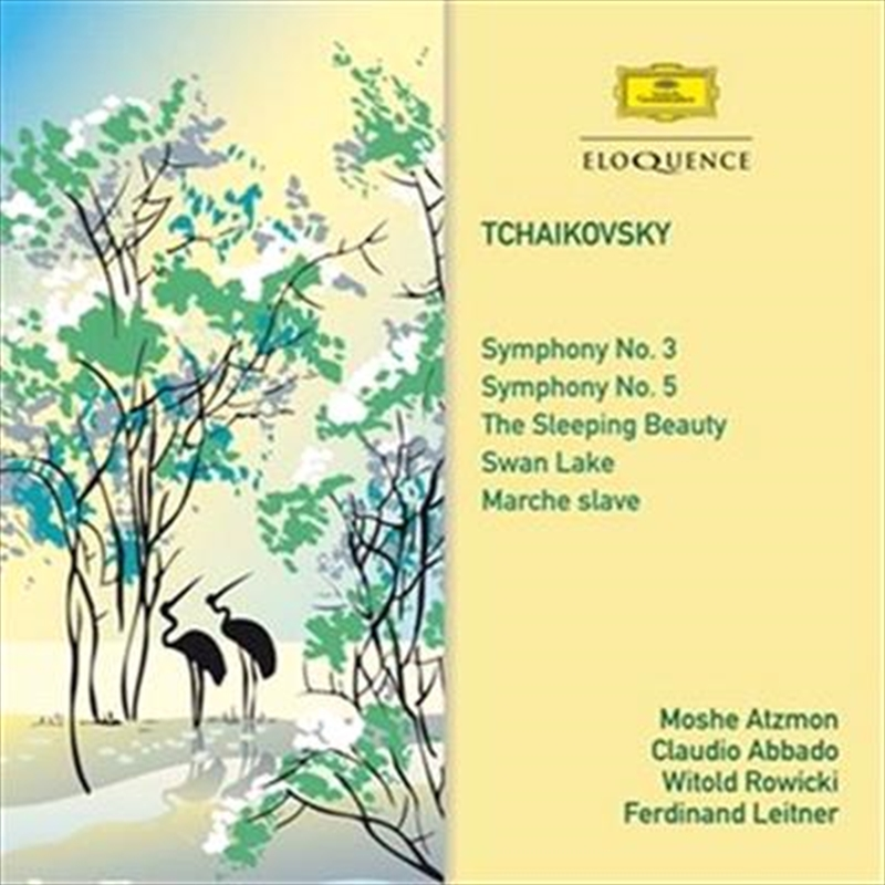 Tchaikovsky Symphonies 3 & 5/Sleeping Beauty/Swan Lake/Marche Slave | CD