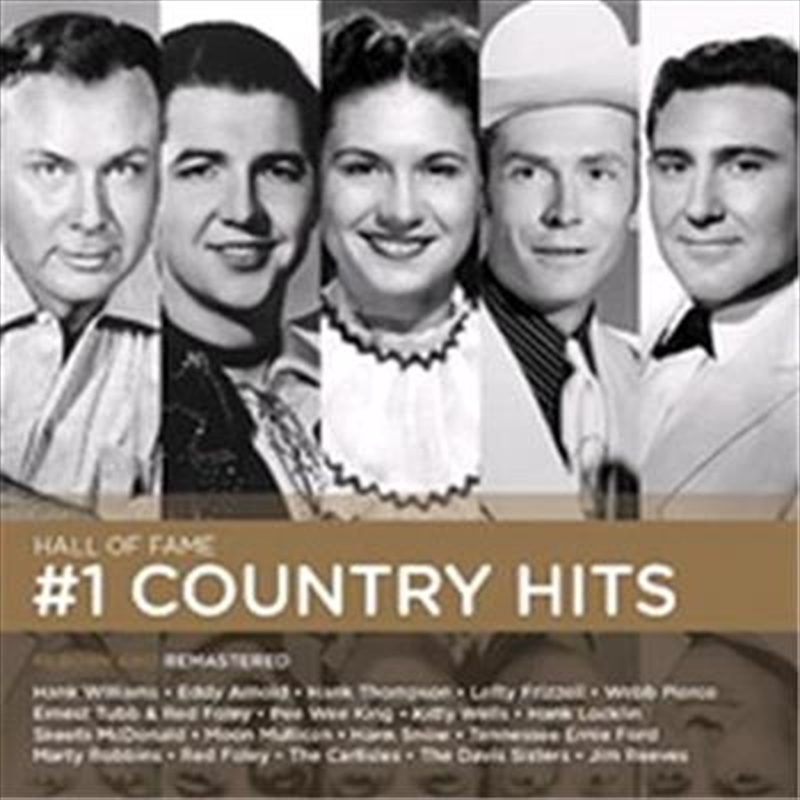 Number One Country Hits   CD