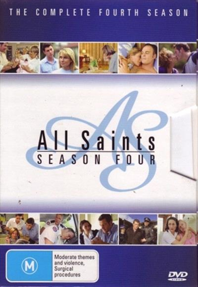 All Saints Season 4 Boxset Drama Dvd Sanity