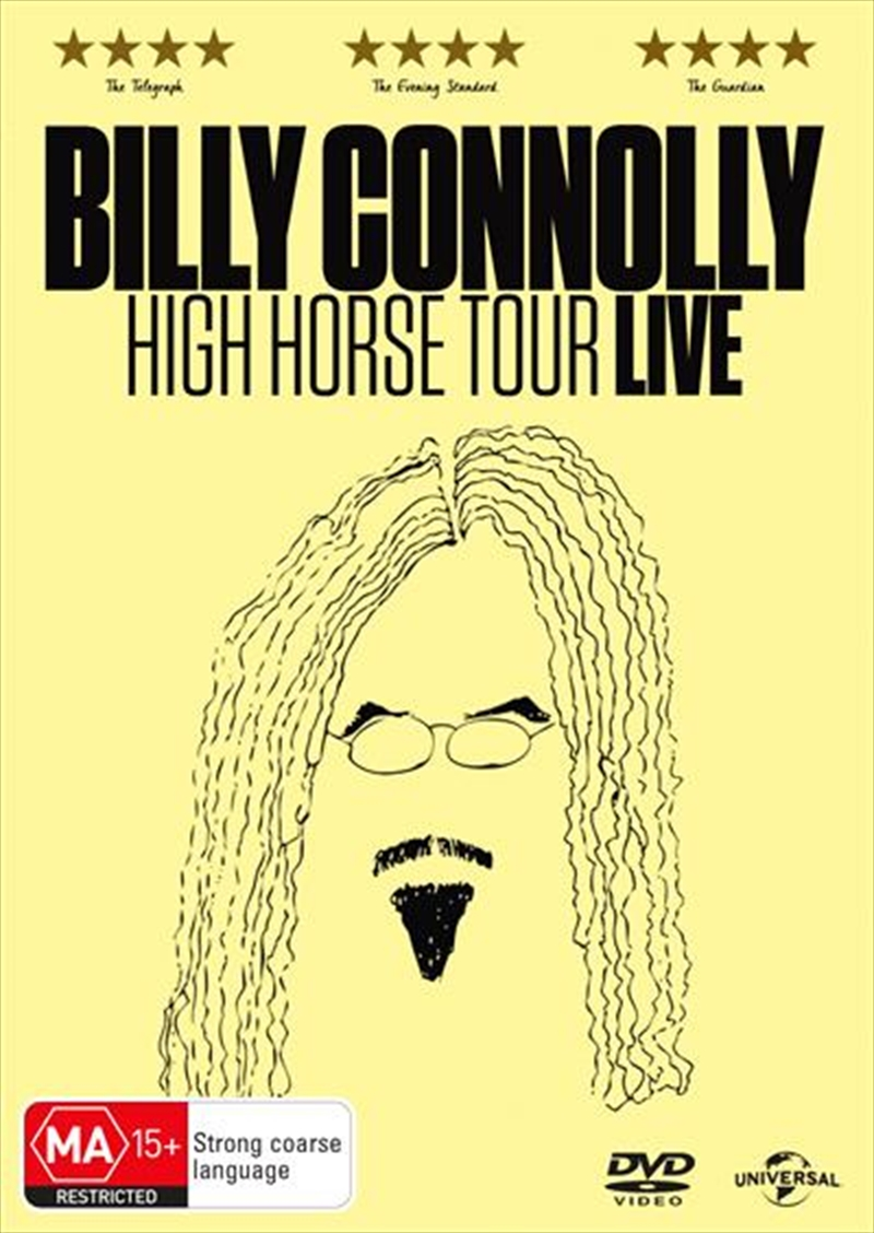 Billy Connolly - High Horse Tour Live | DVD