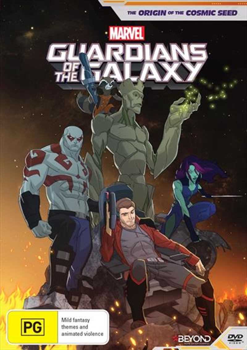 Guardians Of The Galaxy - The Origin Of The Cosmic Seed | DVD