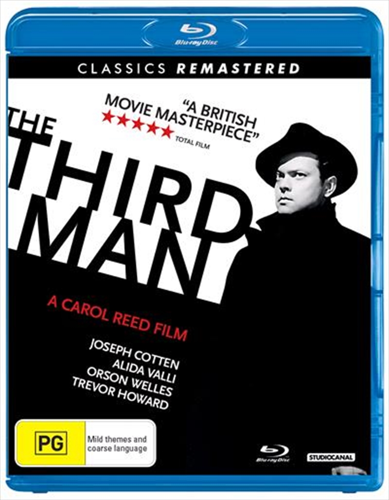 Third Man - Remastered, The | Blu-ray