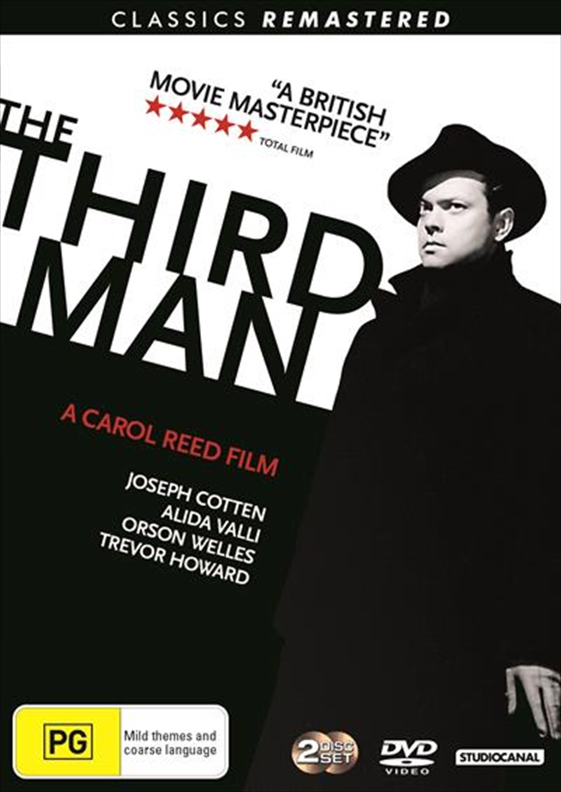 Third Man - Remastered, The | DVD