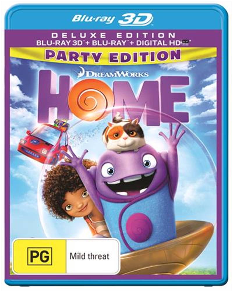 Home | 3D + 2D Blu-ray + UV - Party Edition