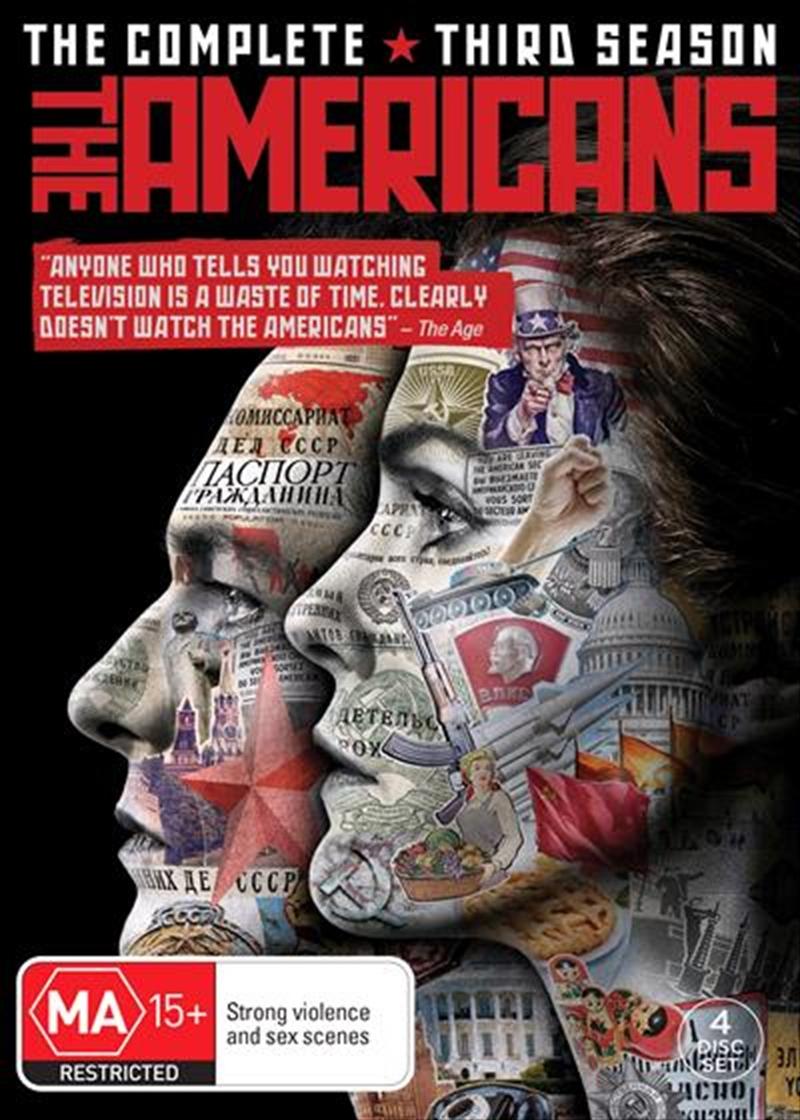 Americans - Season 3, The | DVD