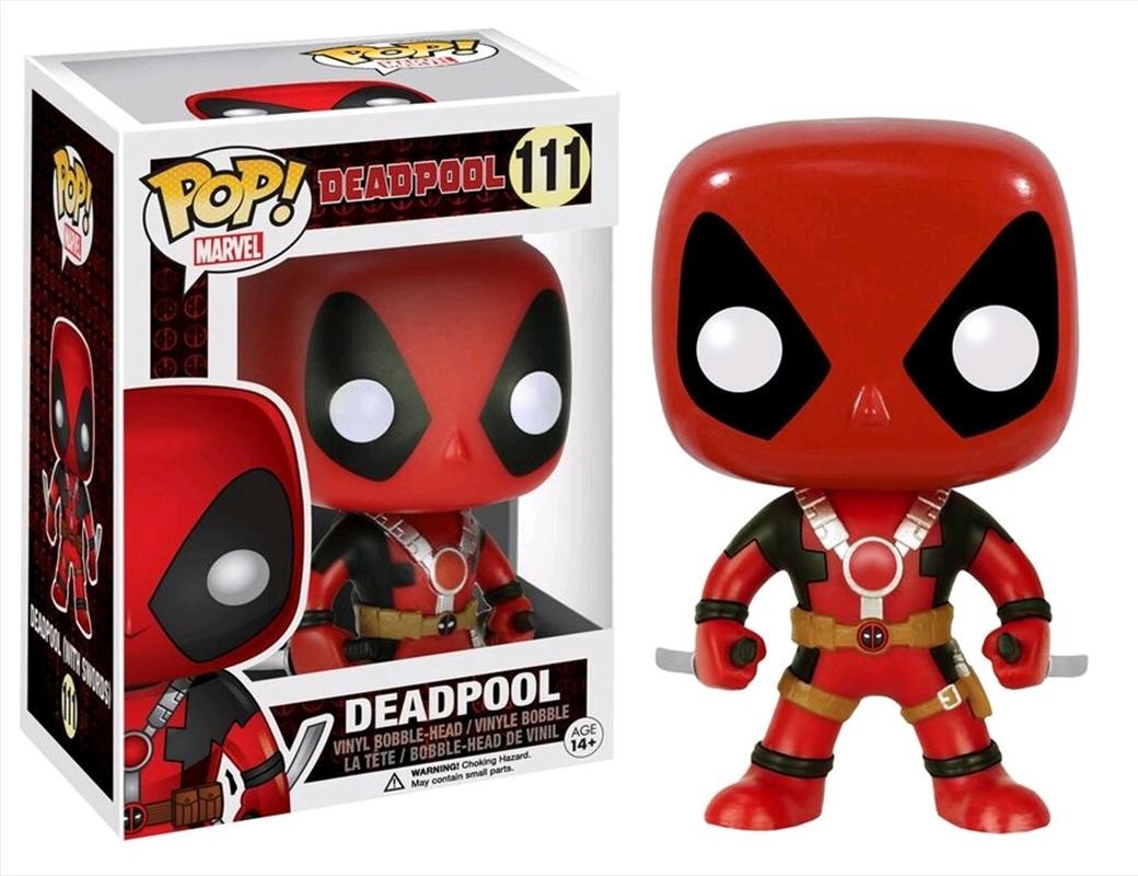 Deadpool Two Swords   Pop Vinyl