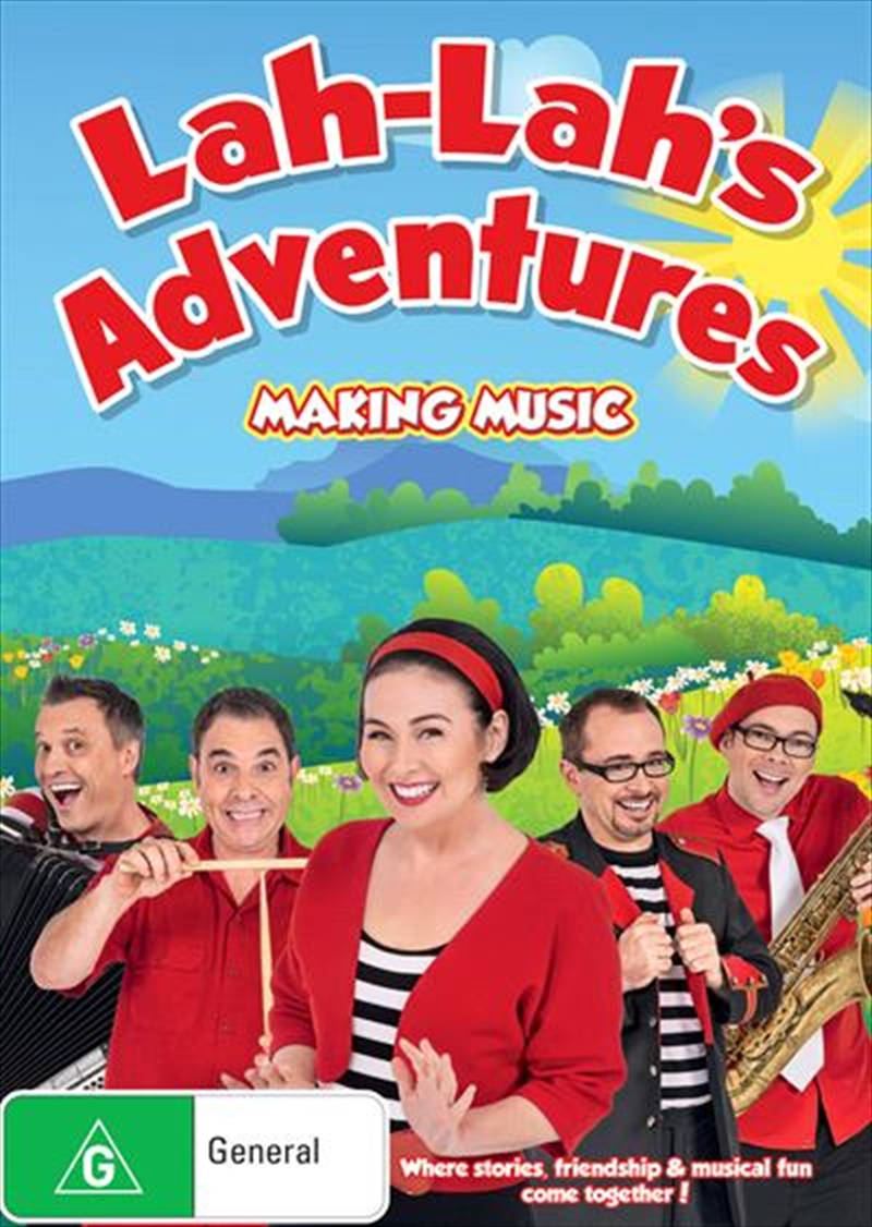 Lah-Lah's Adventures - Making Music | DVD