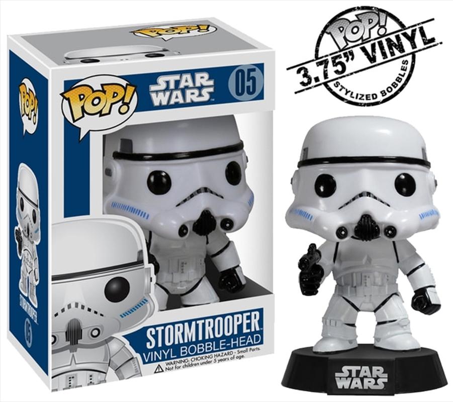 Star Wars - Stormtrooper Pop! Vinyl | Pop Vinyl