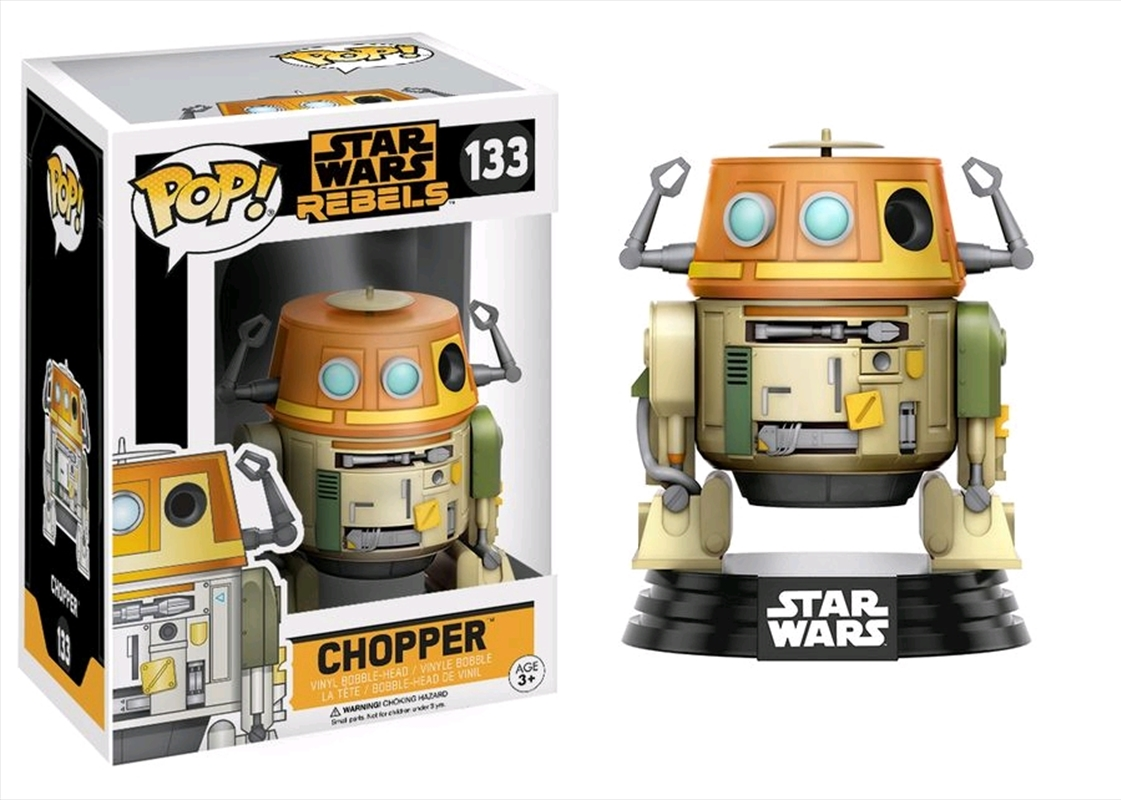 Chopper | Pop Vinyl