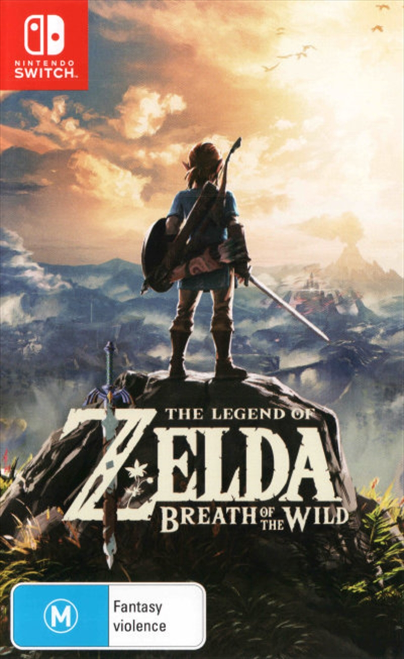 Legend Of Zelda Breath Of The Wild | Nintendo Switch