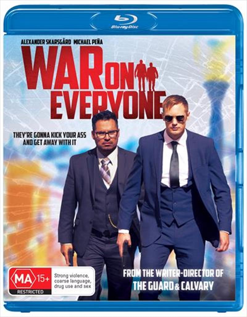 War On Everyone | Blu-ray