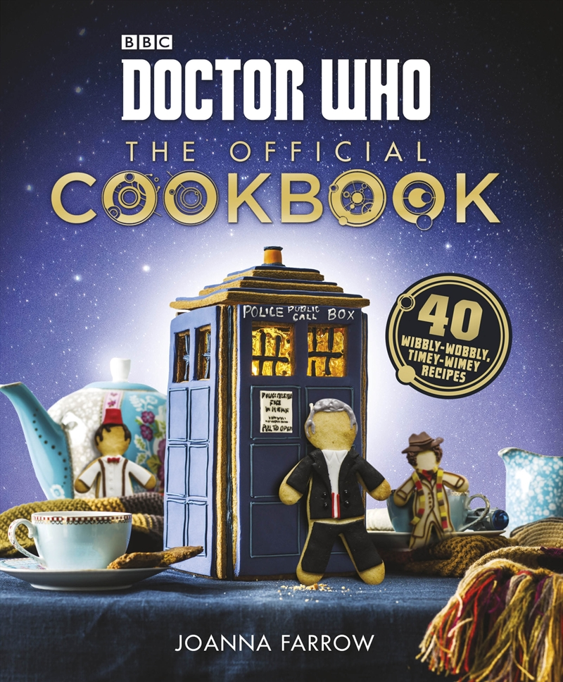 Doctor Who: The Official Cookbook | Hardback Book