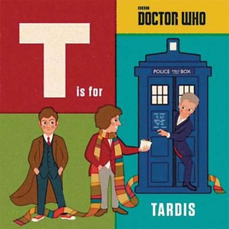 Doctor Who T Is For Tardis | Hardback Book
