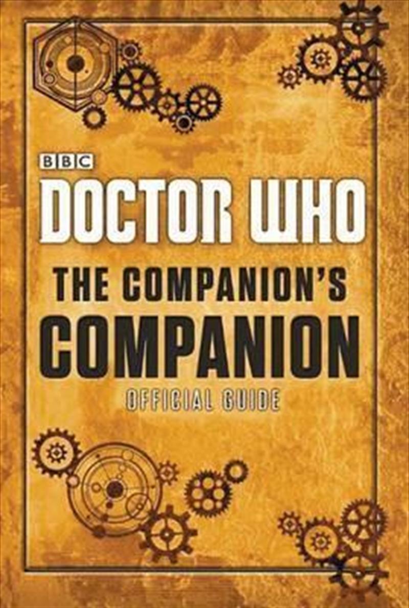 Doctor Who The Companions Companion   Hardback Book