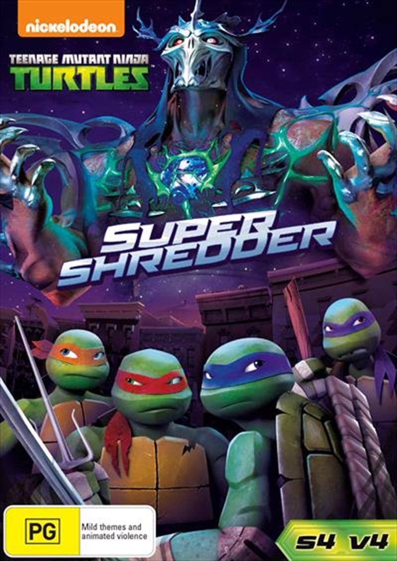 Teenage Mutant Ninja Turtles - Super Shredder - Season 4 - Vol 4   DVD
