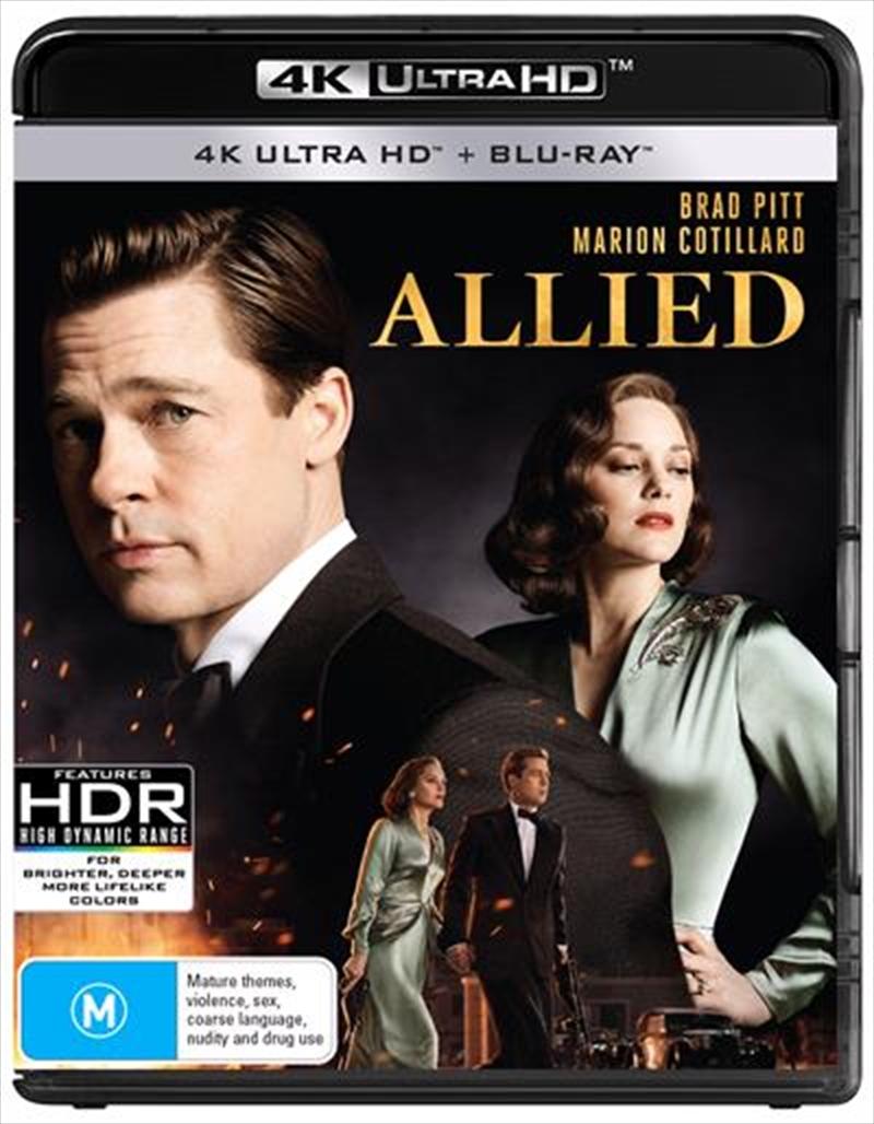 Allied | Blu-ray + UHD