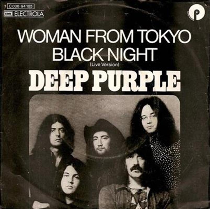 Black Night/Woman From Tokyo   Vinyl