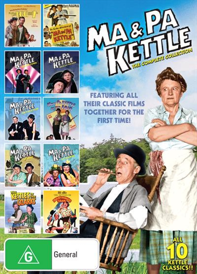 Ma and Pa Kettle | Complete Collection | DVD