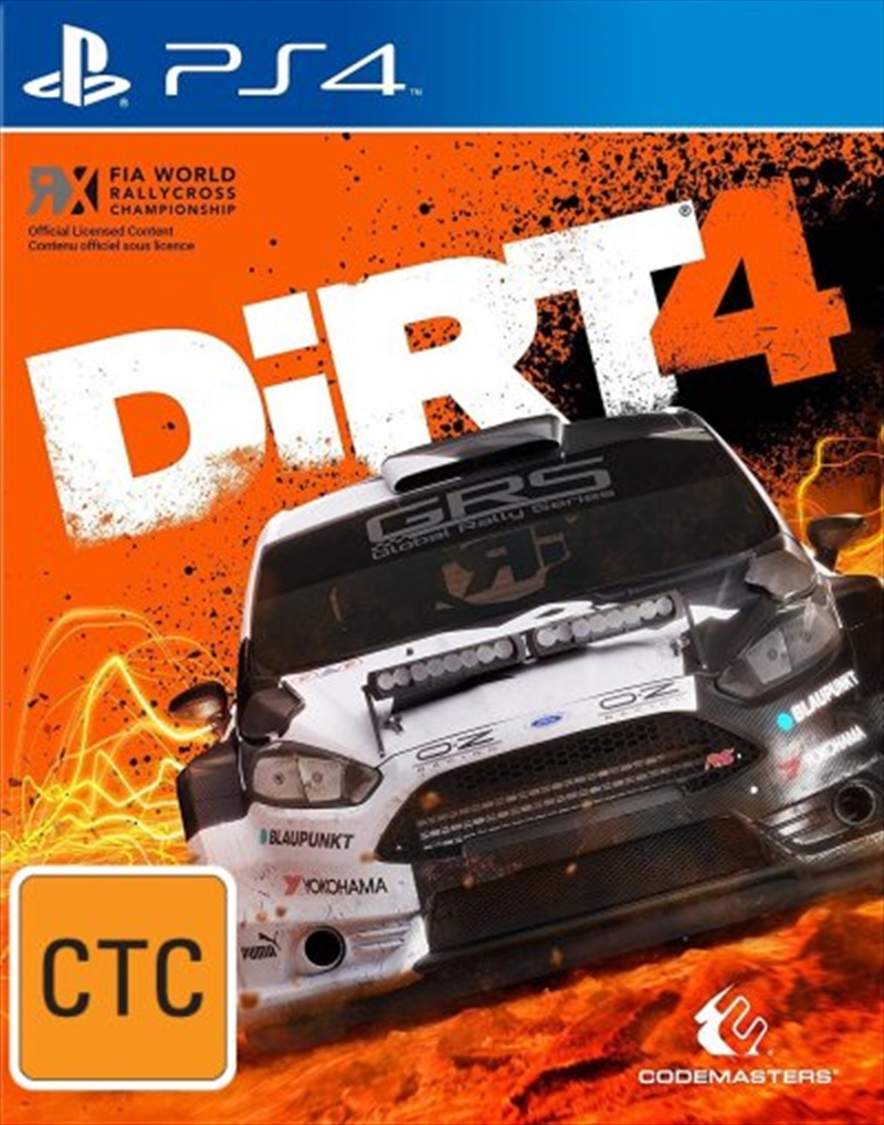 Dirt 4 Day One Edition | PlayStation 4