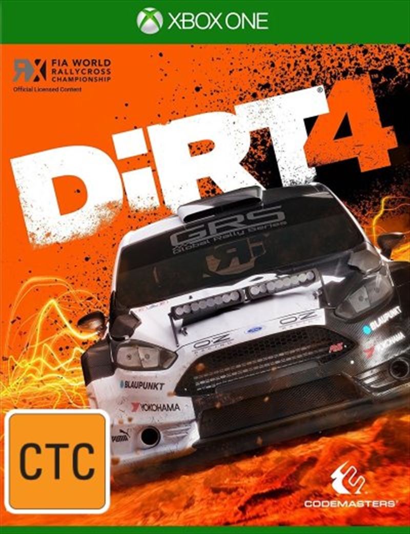 Dirt 4 Day One Edition | XBox One