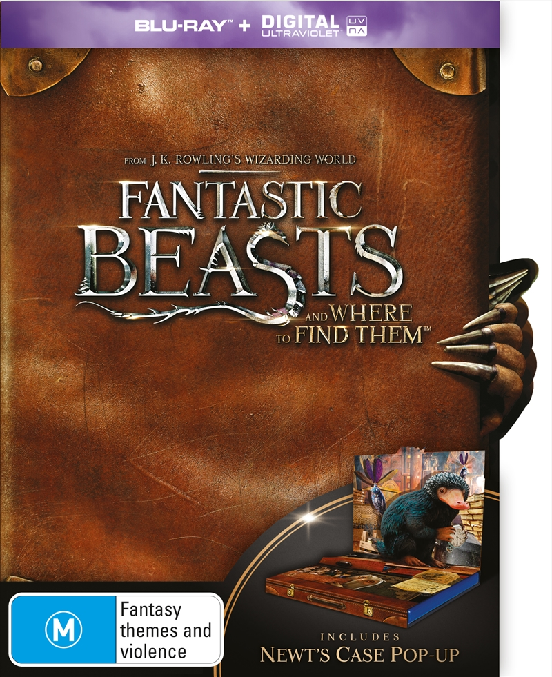 Fantastic Beasts And Where to Find Them - Suitcase Packaging