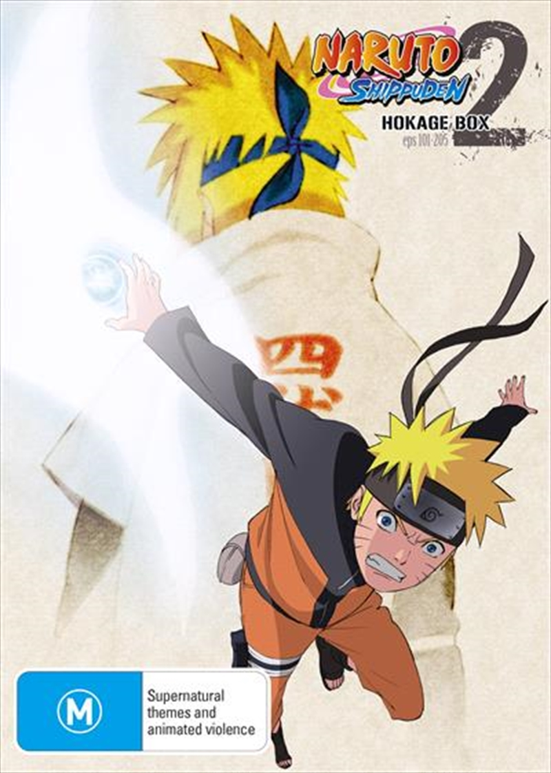 Naruto Shippuden Hokage - Box 2 - Eps 101-205 | DVD