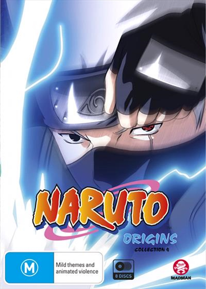 Naruto (Uncut) Origins - Collection 4 - Eps 164-220 | DVD
