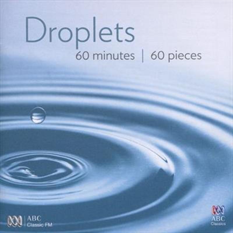 Droplets- 60 Seconds / 60 Piec   CD