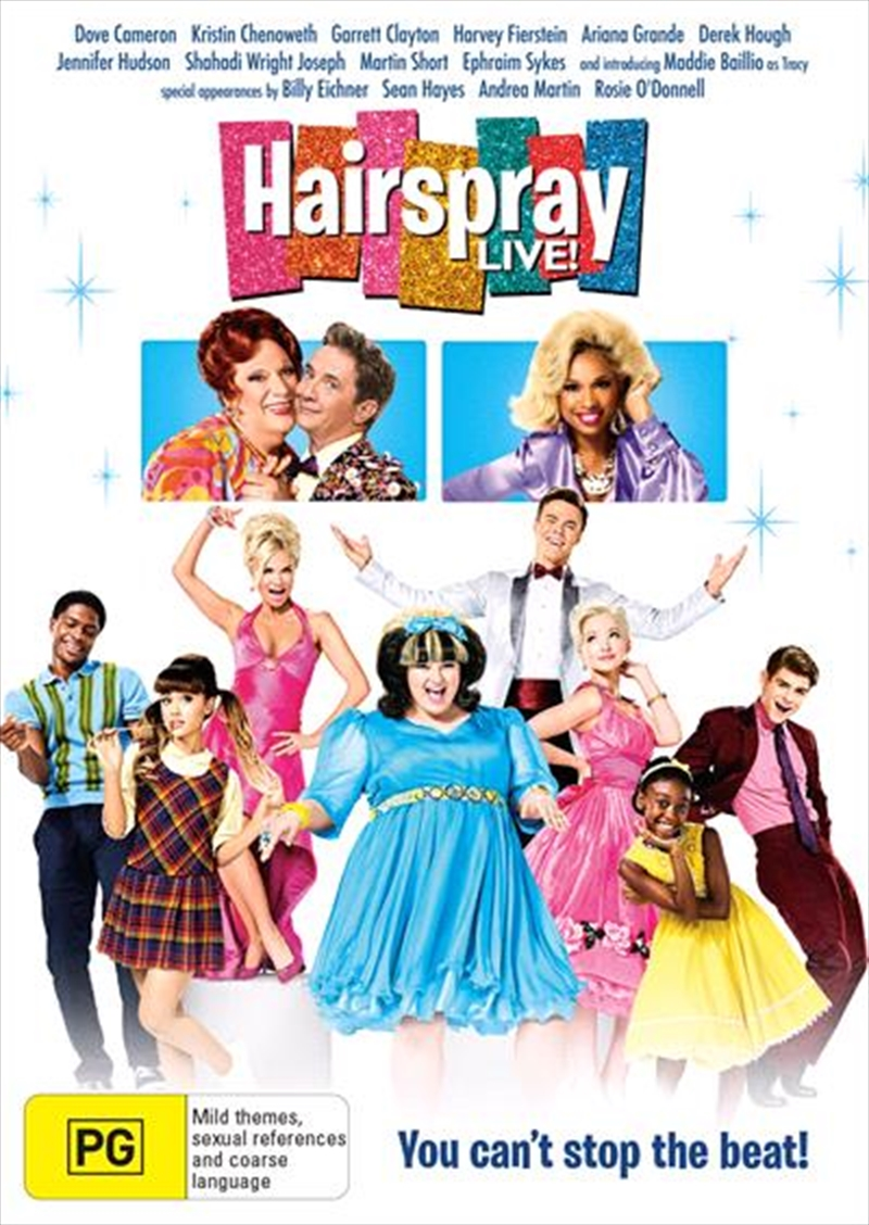 Buy Hairspray Live On Dvd Sanity