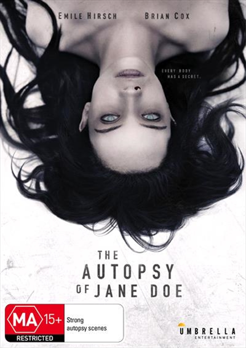 Autopsy Of Jane Doe | DVD