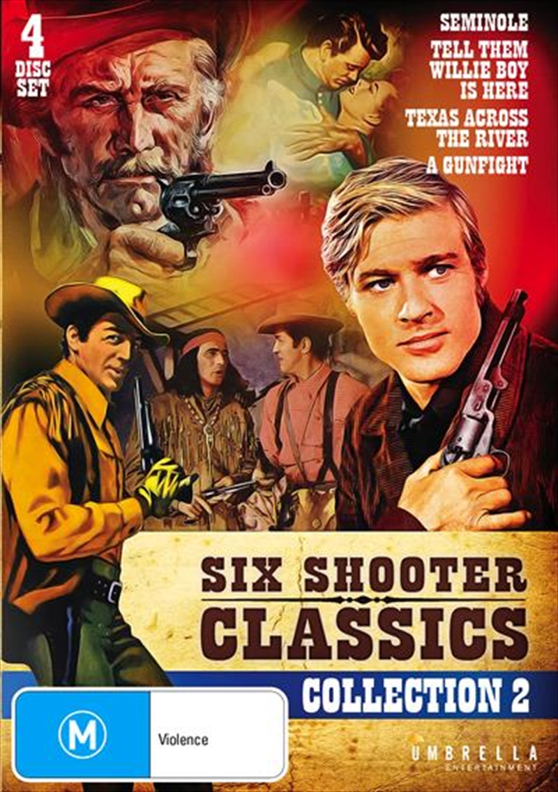 Six Shooter Classics Western - Vol 2 | Collection | DVD
