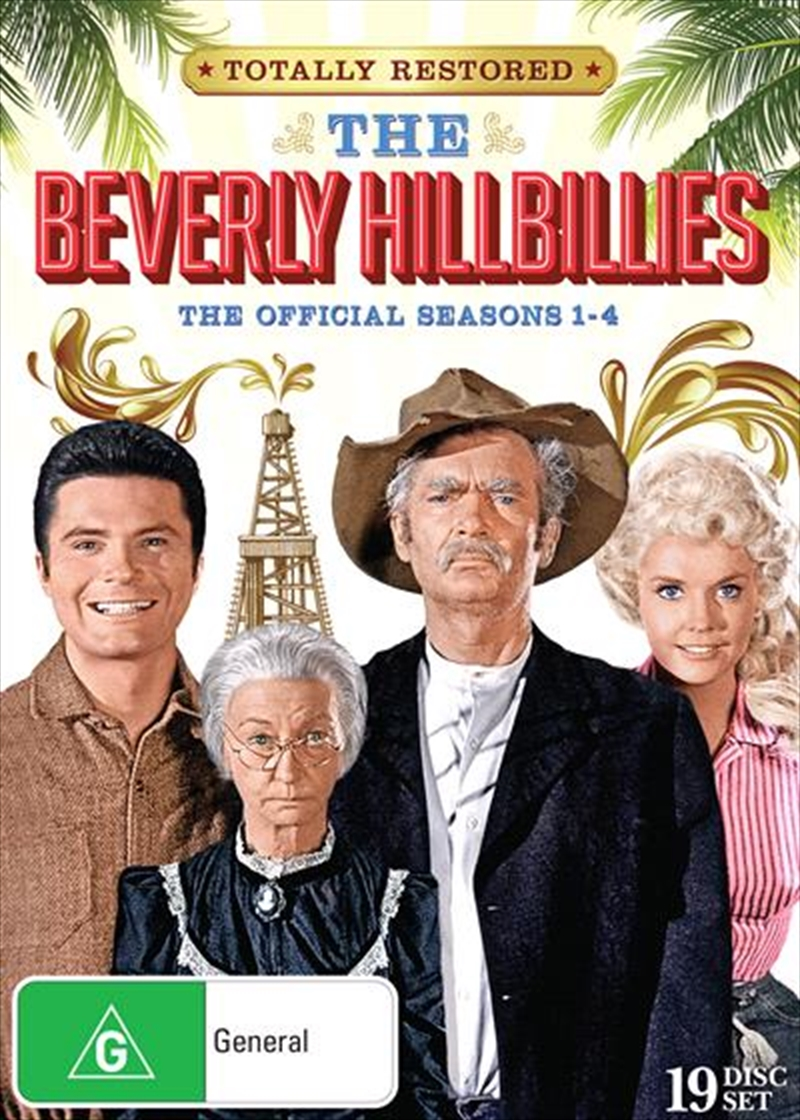 Beverly Hillbillies - Season 1-4 | Boxset, The | DVD