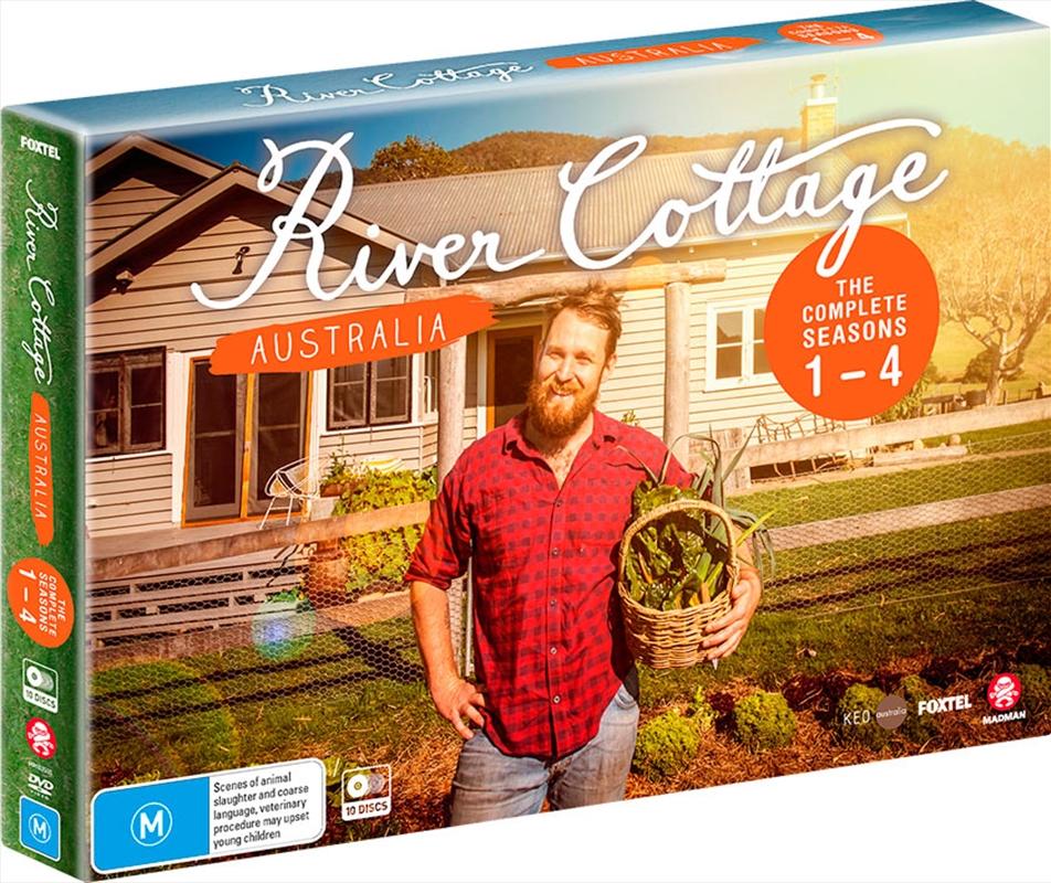 River Cottage - Australia - Series 1-4 | Boxset | DVD