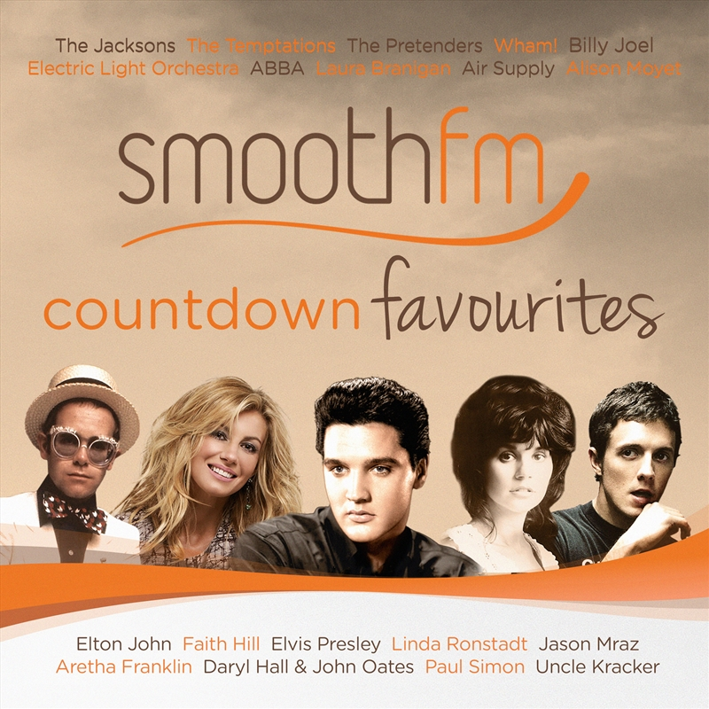 Smooth FM Countdown Favourites | CD