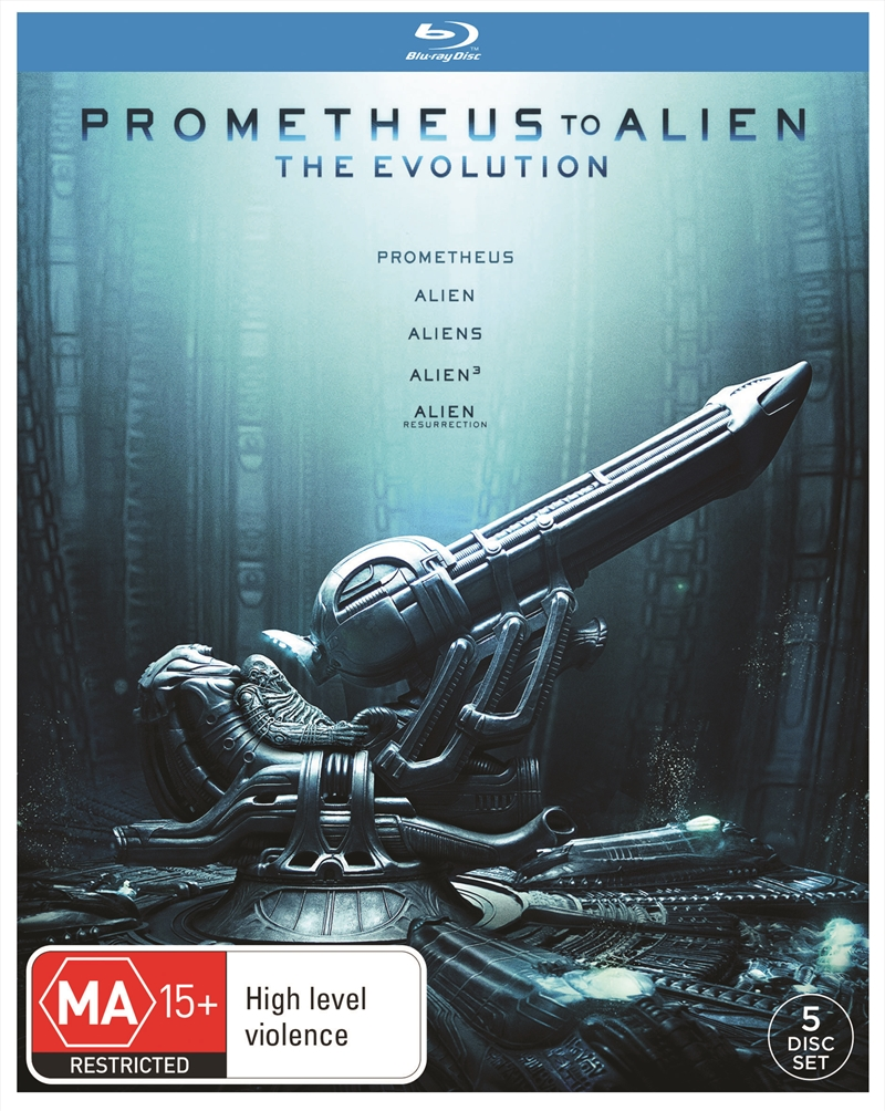 Prometheus To Alien Collection | Blu-ray
