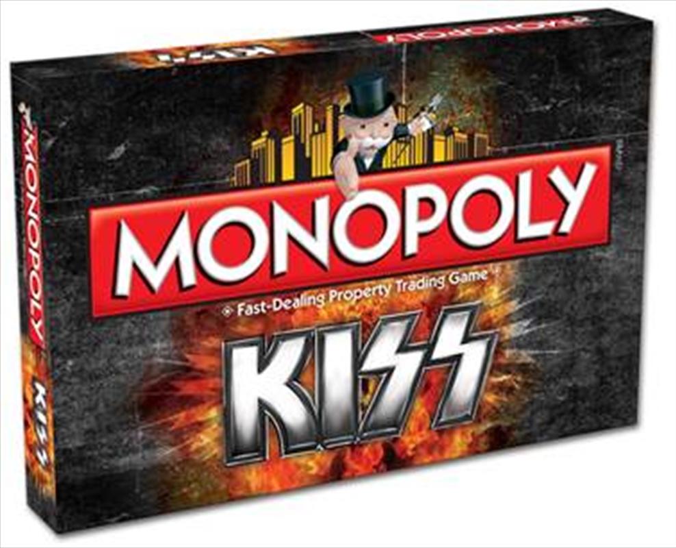 Monopoly: KISS Edition | Merchandise