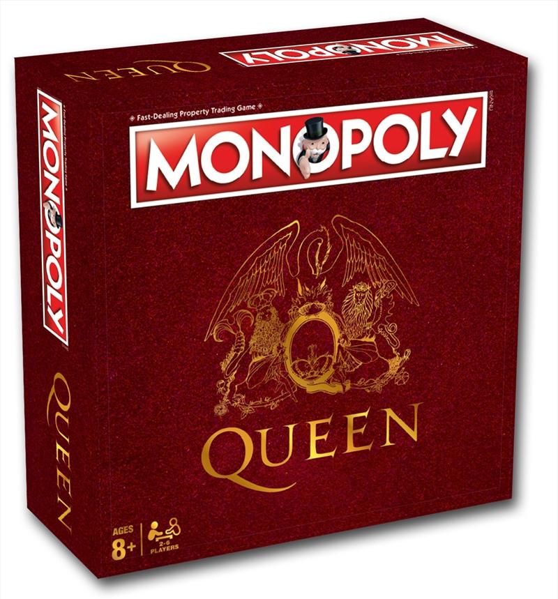 Monopoly: Queen Edition | Merchandise