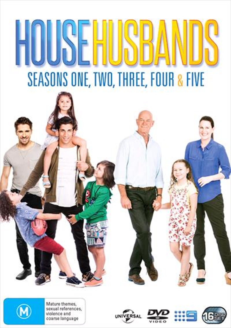 House Husbands - Series 1-5 | Boxset | DVD