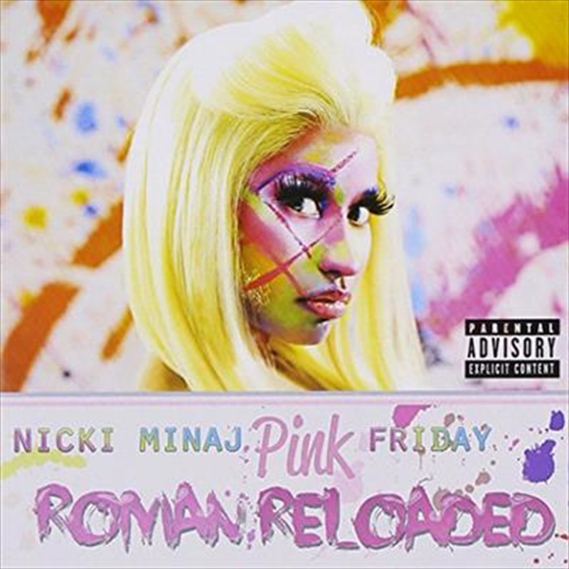 Pink Friday: Roman Reloaded   CD