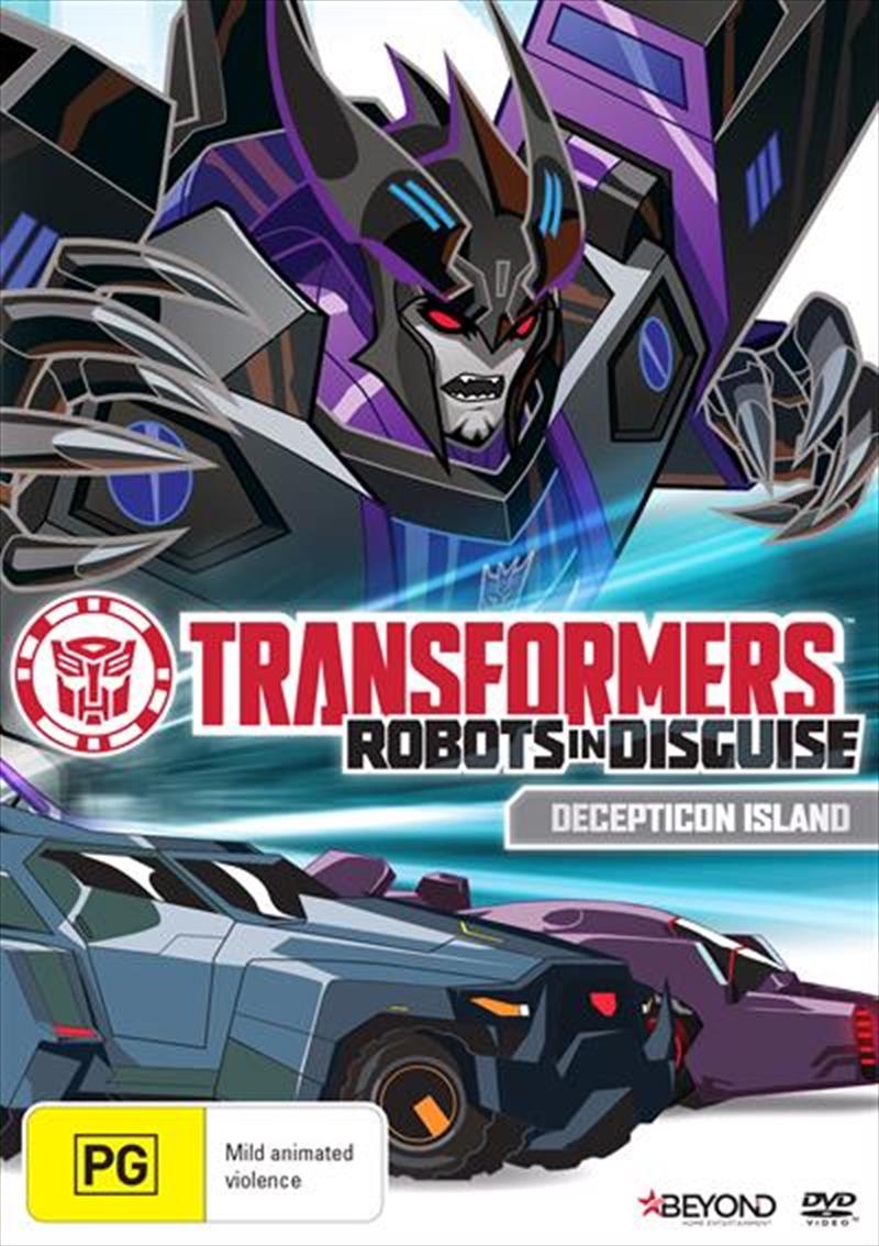 Transformers - Robots In Disguise - Decepticon Island   DVD