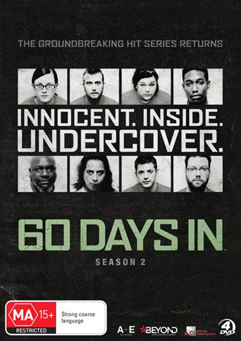 60 Days In - Season 2 | DVD