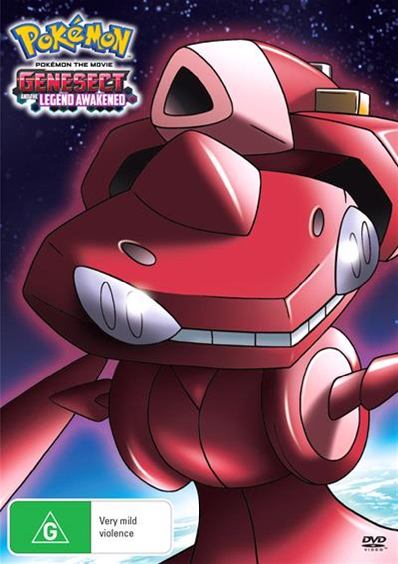 Pokemon The Movie - Genesect And The Legend Awakened | DVD